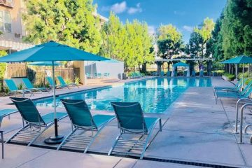 Fruitdale Station Apartments Outdoor Community Pool