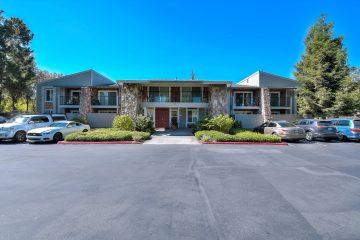 Apricot Pit Apartments Parking Lot & Buildings