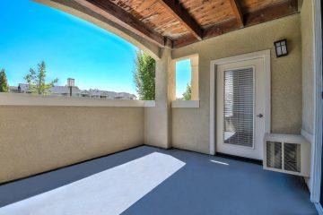Apartment Unit Outdoor Patio