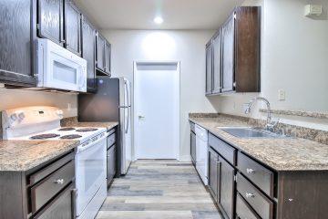 Apartment Unit Kitchen