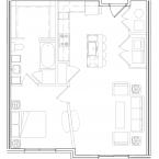 Apartment Alondra Floor Plan