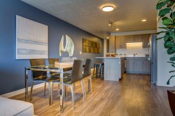 Apartment Unit Dining Room & Kitchen