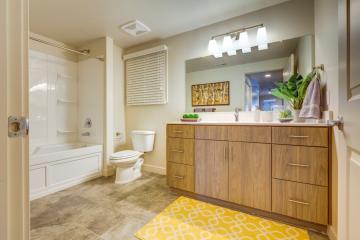 Apartment Unit Bathroom