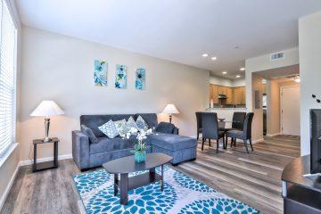 Fruitdale Station Apartments Living Room
