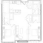 Apartment Brittney Floor Plan