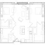 Apartment Sofia Floor Plan
