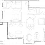 Apartment Julia Floor Plan