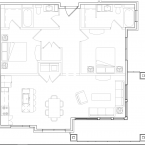 Apartment Bella Floor Plan