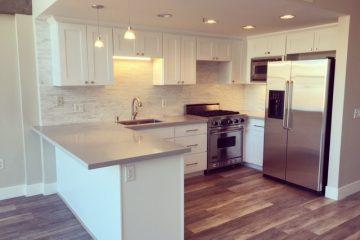 Bluxome Place Loft Unit Kitchen