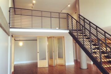 Bluxome Place First Floor Loft Bedroom