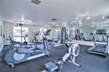 Warburton Village Apartments Fitness Center Gym Equipment