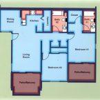 Apartment B2A Floor Plan