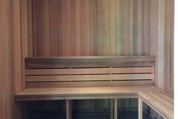 Los Altos Gardens Sauna Room