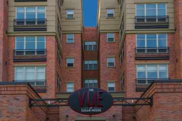 The Vue at Sugar House Crossing Entrance Exterior View