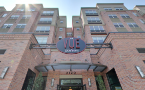 The Vue at Sugar House Crossing Front Entrance Exterior