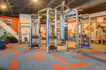 Midtown 360 Fitness Center Gym Equipment