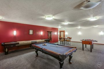 Axis at 739 Apartments Community Game Room