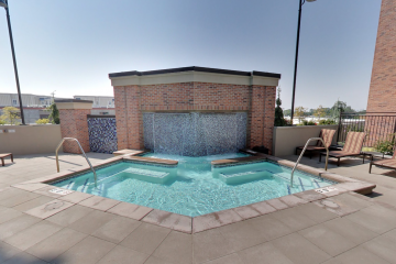 The Vue at Sugar House Crossing Rooftop Hot Tub Jacuzzi