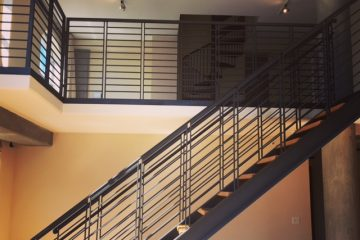 Bluxome Place Interior Staircases