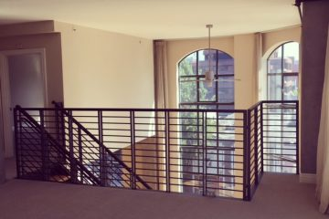 Bluxome Place Apartment Interior Staircase