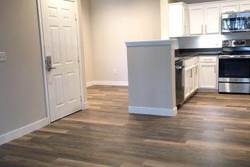 Gemello Village Apartments Living Room & Kitchen