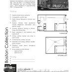Metro at Showplace Square - Boston 1x1 - 929 to 1110 Square Feet - Floorplan