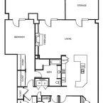 Apartment METROPOLITAN Floor Plan