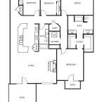 Apartment ROCHESTER Floor Plan