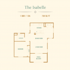 Apartment The Isabelle Floor Plan