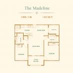 Apartment The Madeline Floor Plan