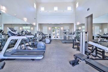 Catalina Apartments Fitness Center Gym Equipment