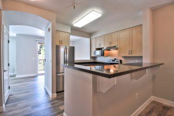 Catalina Luxury Apartment Unit Kitchen