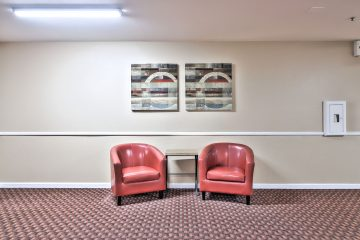 Cezanne Apartments Lobby Seating