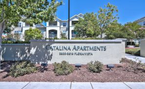 Catalina Luxury Apartments Front Entrance