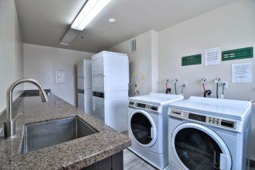 Flora Vista Apartments Laundry Room