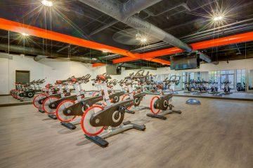 Midtown 360 Fitness Center Exercise Bikes
