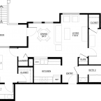 Apartment Mediterranean Collection Floor Plan