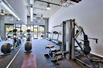 Metro at Showplace Square Fitness Center Gym Equipment