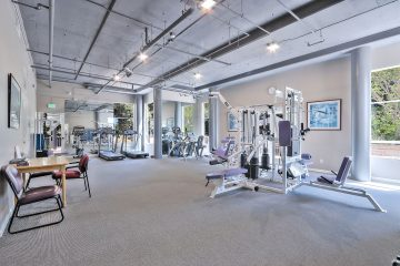 Stevens Creek Villas Fitness Center Gym Equipment