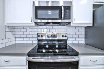 The Podium Apartments Kitchen Stove & Cabinets