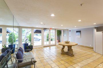 Villa Doheny Apartments Front Lobby