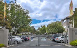 Warburton Village Apartments Gated Entrance