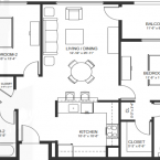 Apartment Napa Collection Floor Plan