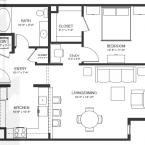 Apartment The Victoria Floor Plan