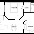 Apartment Euro Floor Plan