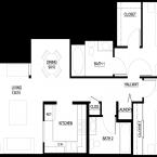 Apartment Luxor Floor Plan