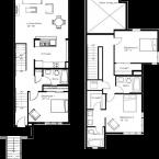 Apartment Mediterranean Floor Plan