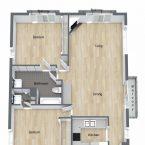 Apartment Villa I Lower Floor Plan