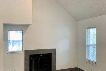 Seven65 Lofts Living Room Fireplace