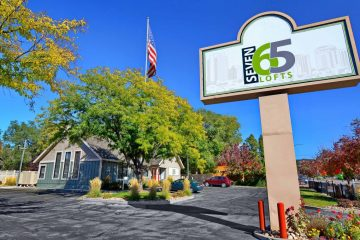 Seven65 Lofts Front Entrance Sign